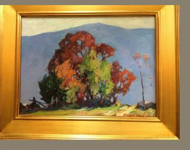 Stanley Woodward Oil on Board