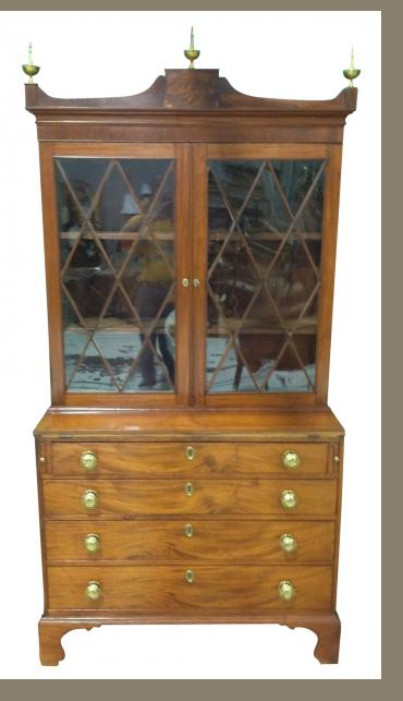Massachusetts Federal Secretary Bookcase