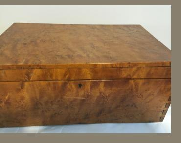 American Bird's Eye Maple Box